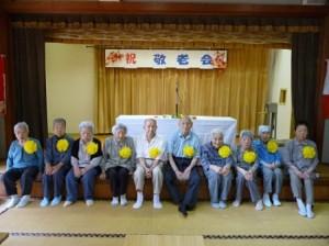 90歳以上の方々